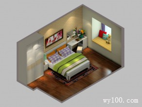 田园卧室装修效果图 18�O有效的利用空间_赌盘网