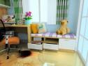 现代简约书房效果图 9�O书柜和书桌的组合_赌盘网