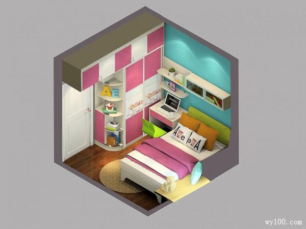 多功能室儿童房装修效果图