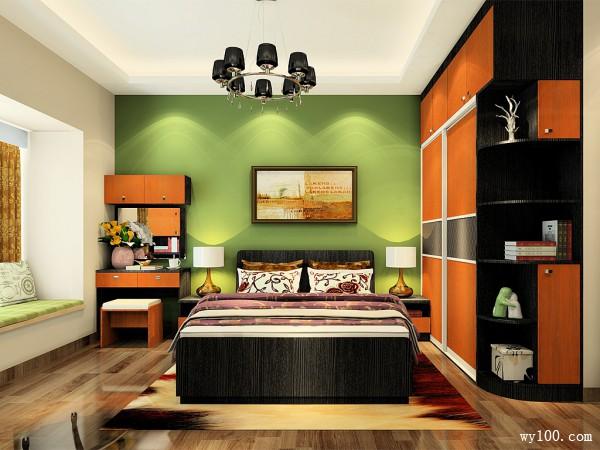 家装卧室设计效果图 13㎡达到整体性和协调性_维意亚博娱乐手机登录手机专用家具商城