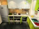 L型橱柜厨房装修效果图 6�O有柱子厨房一招解决_赌盘网