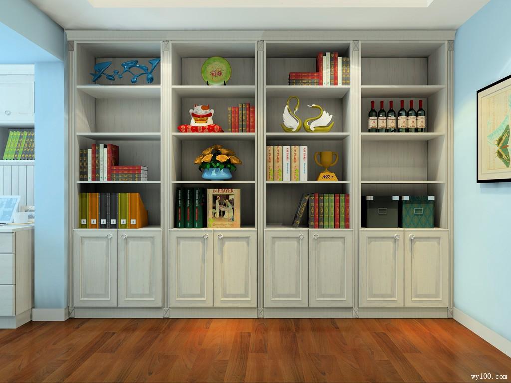 书房装修效果图_家庭书房图片