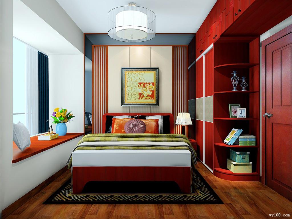 卧房 中式卧室装修效果图 8㎡充满中国韵味气息  中式卧室装修效果图