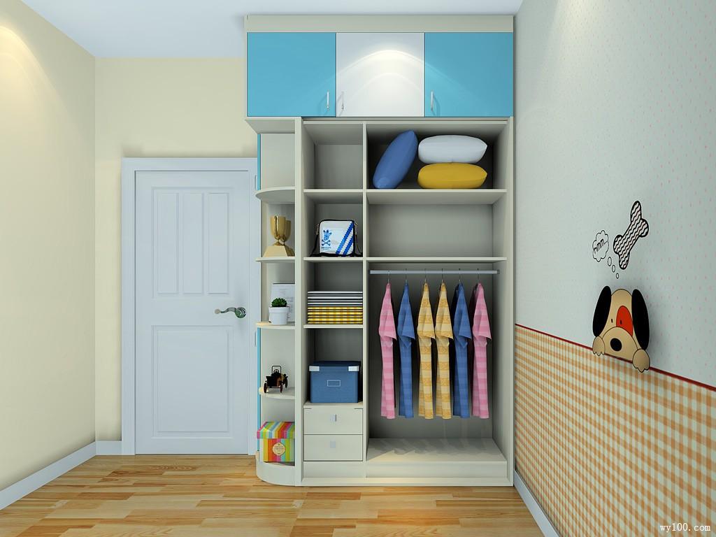 小户型儿童房设计效果图 7㎡整体摆放整齐大方