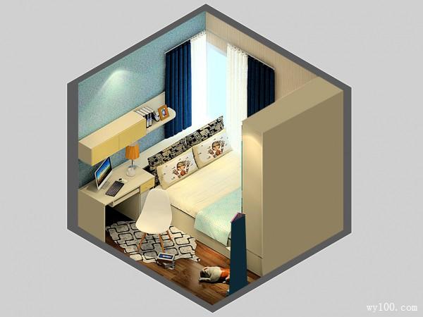8�O小空间榻榻米儿童房设计效果图_赌盘网