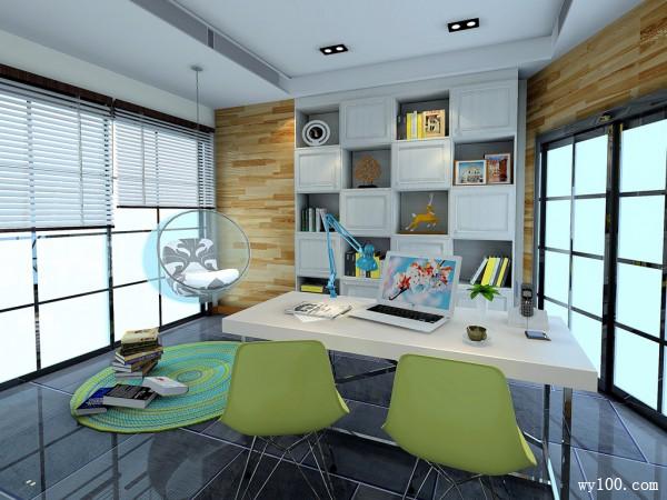 书桌书房装修效果图
