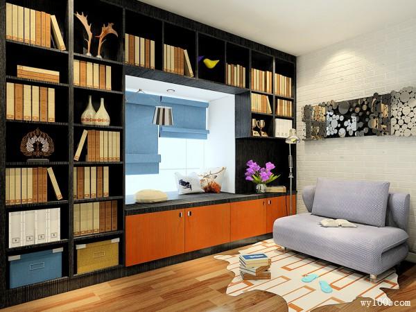 沙发茶几书房装修效果图