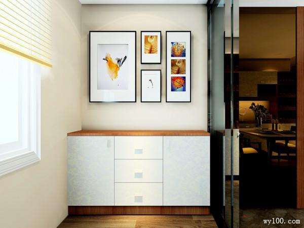 欧式客餐厅 餐桌餐柜设计给人大气实用感_赌盘网