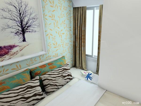 卧室装修效果图 8�O温馨不失时尚_维意定制家具商城