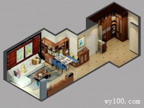 简约客餐厅效果图 56�O空间既典雅又现代_赌盘网