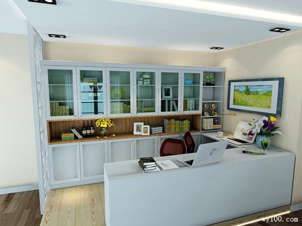 时尚客餐厅效果图 50�OU字型的开放式书房设计_赌盘网