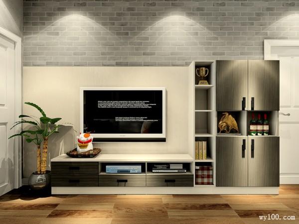 电视柜装修效果图