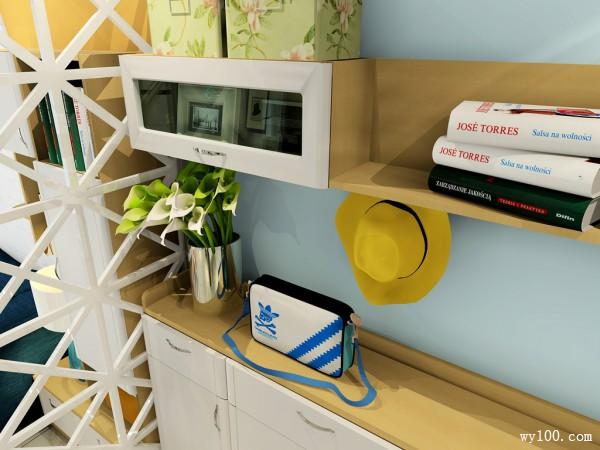 现代简约客餐厅效果图 28�O进门鞋柜设计组合_赌盘网