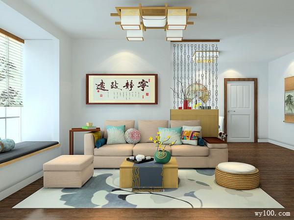 35-40㎡沙发茶几装修效果图