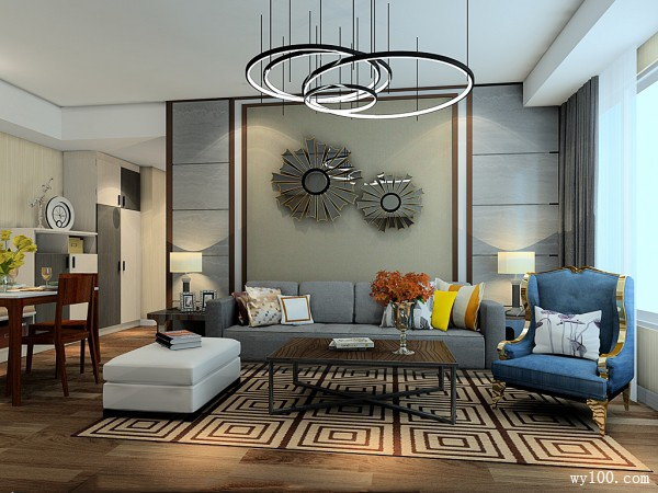 欧式沙发茶几装修效果图