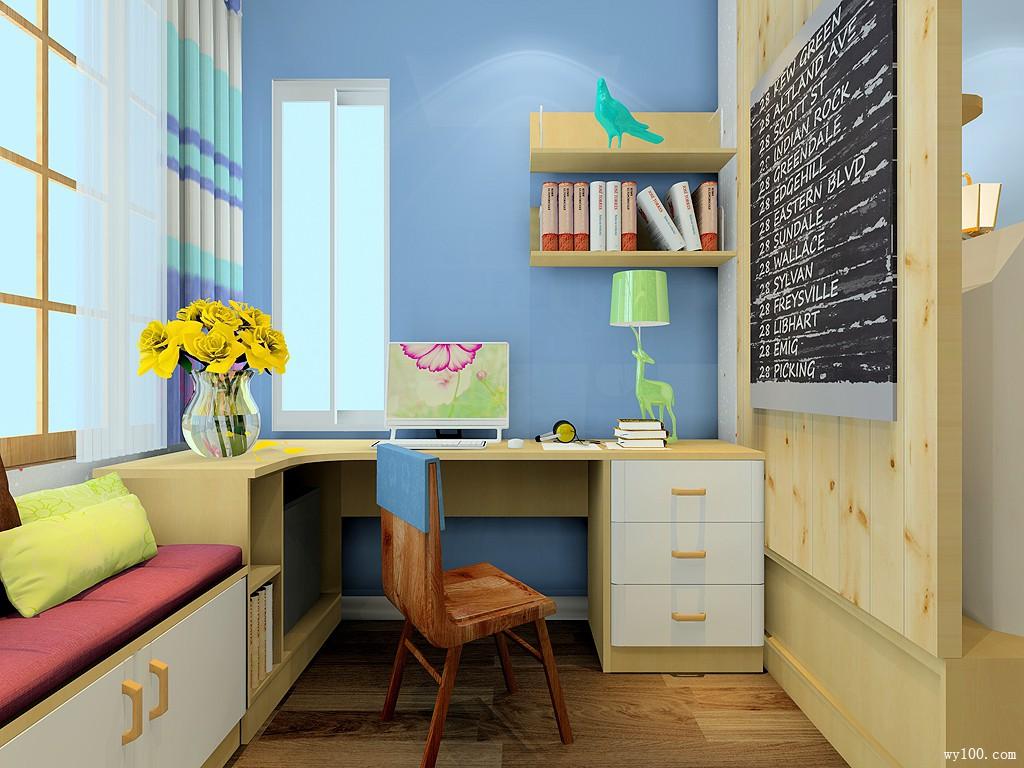 现代卧室装修效果图 32㎡美观实用