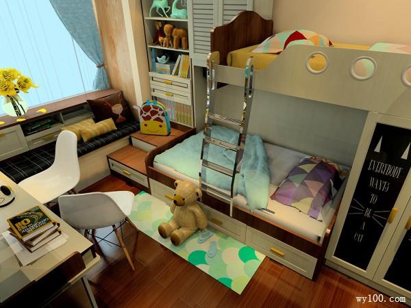 达曼系列儿童房效果图 10�O美观又实用_赌盘网