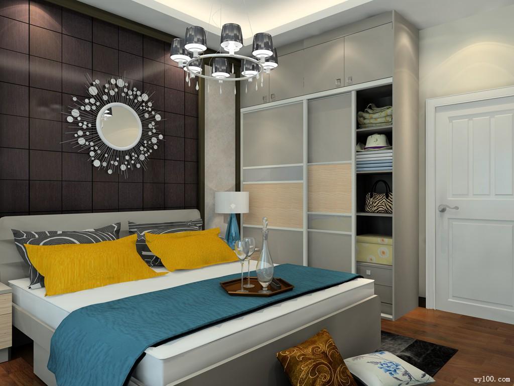 簡約臥室裝修效果圖 12㎡非常實用
