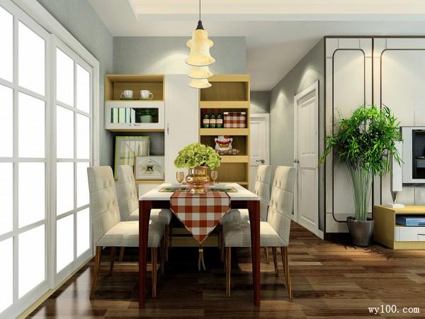 森赛尔系列客餐厅效果图 24�O温馨实用_维意定制家具商城