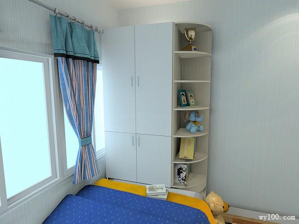 吉尔系列儿童房效果图 6�O利用空间_赌盘网