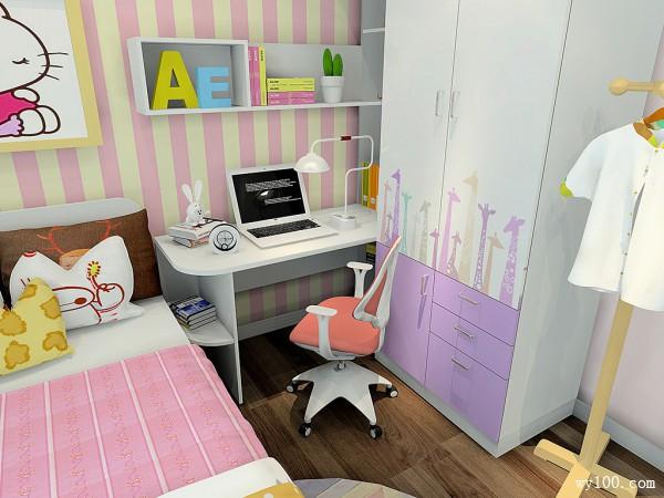 艾迪里系列儿童房效果图 9�O温馨舒适_赌盘网