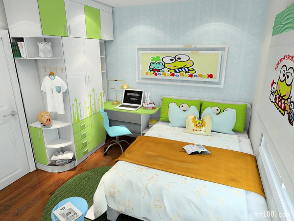 瓦丁系列儿童房效果图 8�O健康生活_赌盘网
