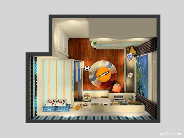 艾迪里系列儿童房效果图 13�O设计_赌盘网