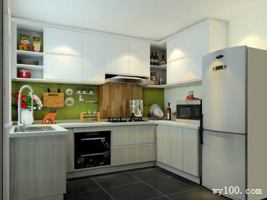 简约现代厨房效果图  5平让厨房格调即?#36538;?#32423; title=