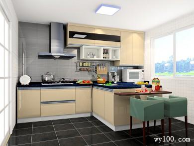 T字形厨房设计 突出空间的流动性和设计感 title=