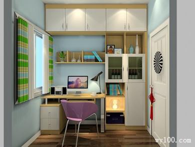 5�O以下书房装修效果图