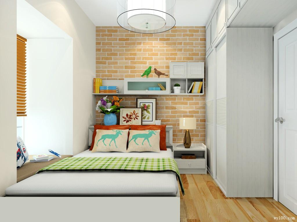 书房设计效果图 6�O加减法不仅省钱还实用_维意定制家具商城