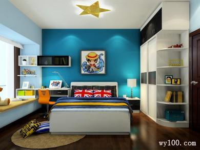 儿童房装修设计 10�O宝宝背景墙的异想空间 title=