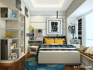 卧室装修设计效果图 9�O不浪费一寸空间的设计 title=