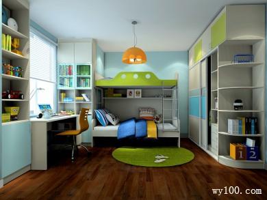窗台卧室设计效果图 14�O充分利用柱子的位置 title=