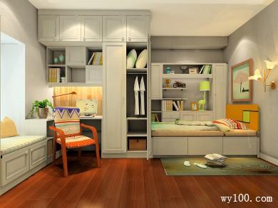 温的暖卧室装修效果图 12�O摆设上满足了空间要求 title=