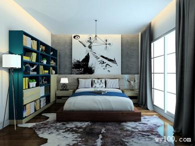 现代风格卧室 小功能大空间是室内设计首选 title=