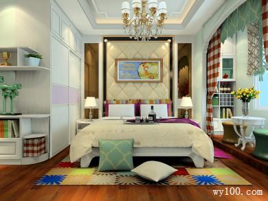 卧室设计图 22�O台阶处设计了休闲区 title=