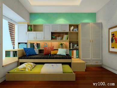 简约儿童房效果图 12�O美观实用
