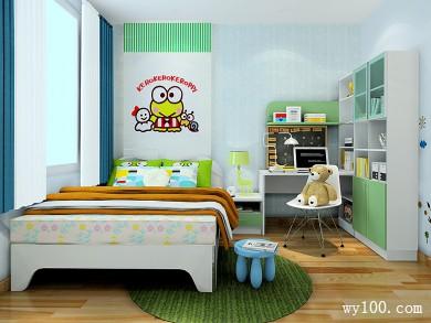 现代儿童房装修效果图 11�O活泼舒适