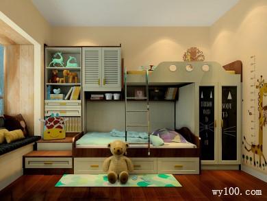达曼系列儿童房效果图 10�O美观又实用