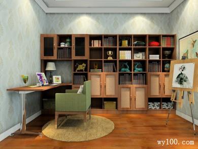 5-10�O书房装修效果图