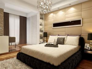 温馨舒适卧室装饰柜
