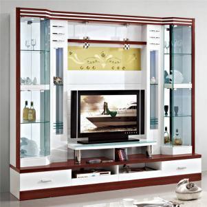 客厅整体电视柜