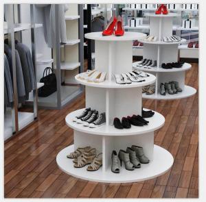 简易圆形鞋柜
