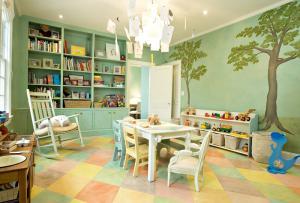 温馨童年儿童书房装修效果图