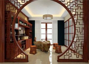 传统中式玄关装修效果图