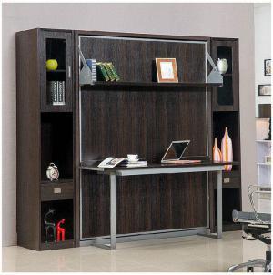 多功能折叠书柜
