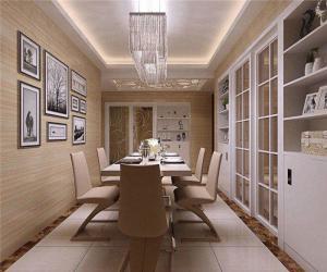 三居室现代家装酒柜效果图