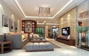 中式风格客厅酒柜