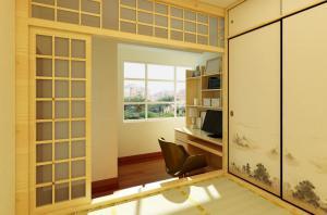 温馨传统日式榻榻米